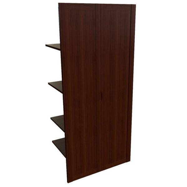 Наполнение двустворчатого шкафа с дверцами и вешалкой Princeton 22552