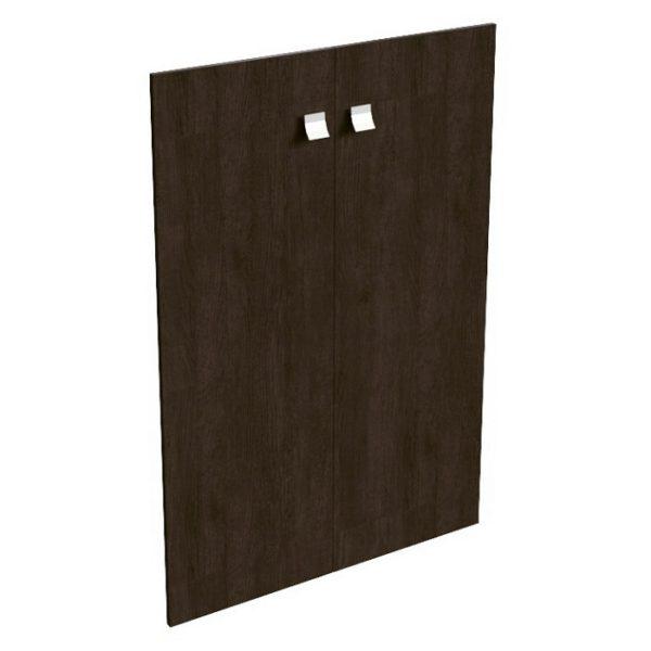 Комплект средних деревянных дверей 12553 венге